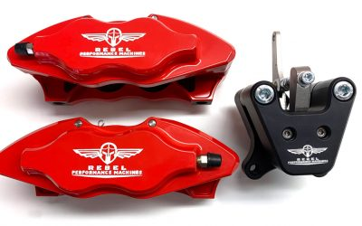 New lightweight and high performance brake callipers for all our cars